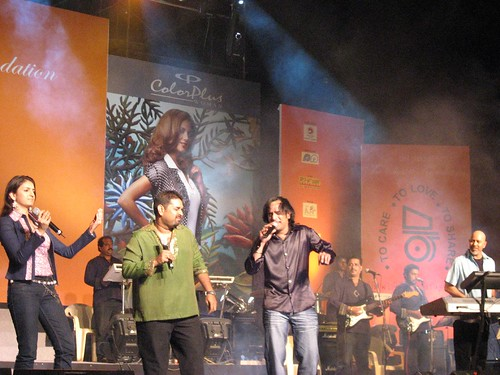 Shankar Mahadevan and team