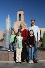 Family Portrait, Newport Beach Temple
