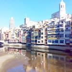 Girona Riu Onyar (tilt shift) thumbnail