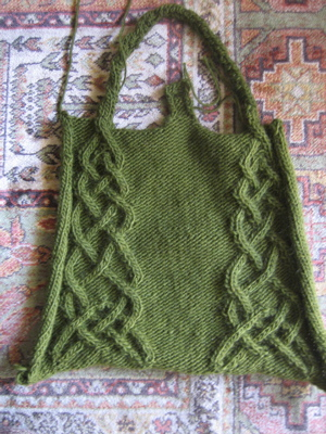 Celtic Tote - back