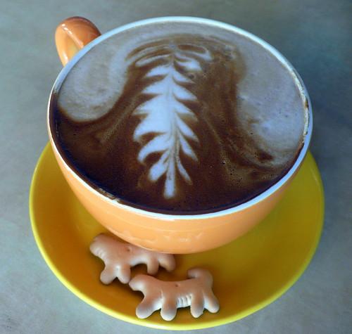 soy latte @halcyon