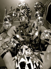 May all your dreams come true!! (siberfi) Tags: portrait white man black reflection male glass silver ball star mirror mask creative dream makeup balls stargazer dreaming masks freak dreams fingernails imagination chic dreamer shards cf p1 clubkid stargazing sb1 gazer clubkids siberfi