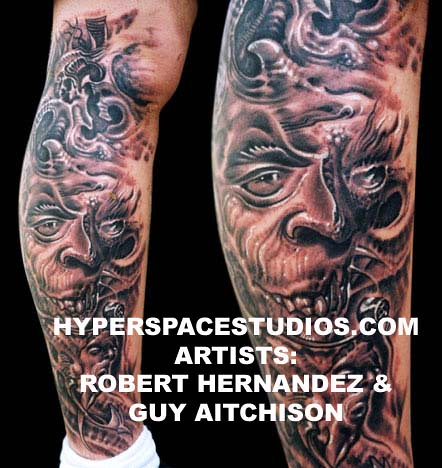 robert hernandez. tattoo. tattooing