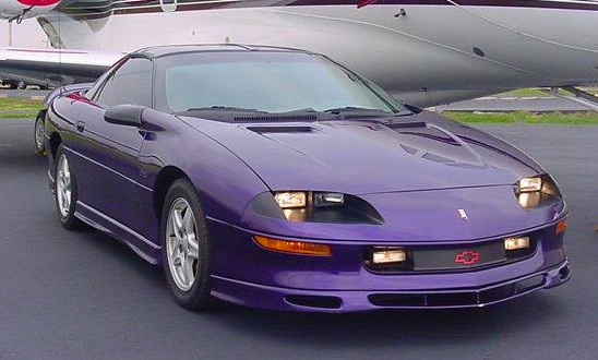 1997 To 1998 Bright Purple Metallic Camaro RS Z28 DONT