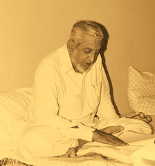 My Passionate Uncle (Daudpota) Tags: pakistan sepia photography reading uncle developingcountry southasia isadaudpota