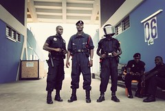can 2008 commandos (^ mAyAkA ^) Tags: africa men football african soccer police security ghana mtn crowdcontrol specialforces africancup can2008 ohenedjansportsstadium the26thafricancupofnations2008