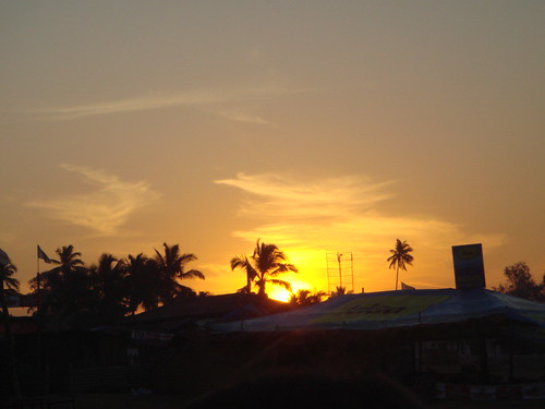 Sunrise in Goa