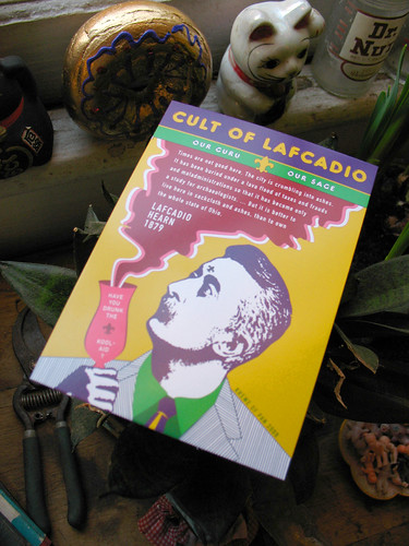 Lafcadio revered at the Krewe du Vieux