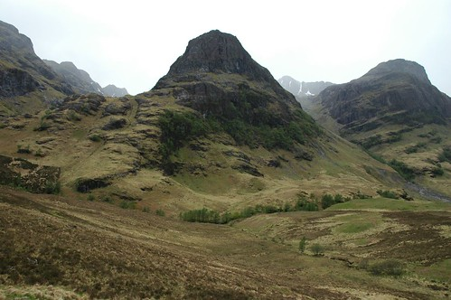 The guardians of the lost valley, the three sisters of Glen Coe