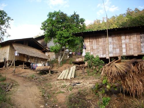 tribu akha norte de tailandia