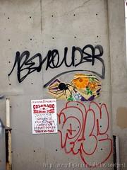 Street Art - Oldies, But Goodies (Seetwist) Tags: streetart art wall graffiti colorado paint grafitti wheatpaste wheat sticky denver urbanart graffitti stick spraypaint local graff aerosol anthem beholder grafitto 303 spiderflower wheatie seetwist