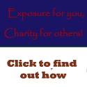 Advertise on the Amatureist Financial Journey, and donate to charity at the same time!