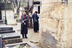 At Jim Morrison's grave