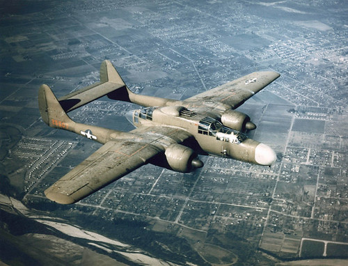 Warbird picture - NORTHROP P-61 BLACK WIDOW