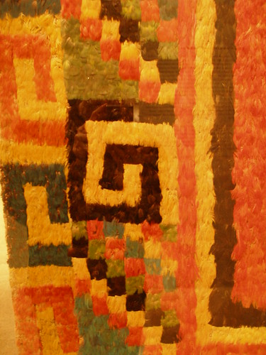 featherwork ancient peru inca