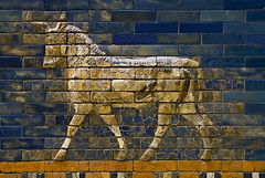 Pergamon Museum - Ishtar Gate _DSC17914 (youngrobv) Tags: berlin brick archaeology museum germany tile deutschland nikon gate europa europe european bricks relief tiles german arabian d200 babylon ishtar glazed pergamon assyrian babylonian polychrome ishtargate archaeologist nebuchadnezzar museumisland 0802 adad ramman ishkur 18200mmf3556gvr thunderer weathergod polychromed nebuchadnezzarii museeinsel youngrobv  stormgod  dsc17914 babishtar robertkoldewey