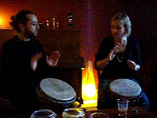 Video of Nathaniel och Linn in Stockholm