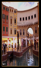 (hanin_33) Tags: mall river boat qatar villaggio      hanin33