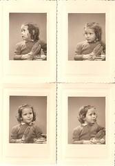 1951 , quand j'tais gentil . (mysister.isnotaboy) Tags: famille me vintage moi antic enfance timide craintif