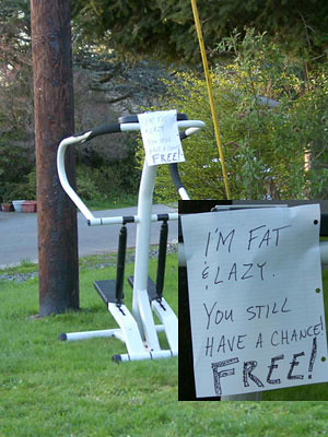 I'M FAT & LAZY! YOU STILL HAVE A CHANCE! FREE!