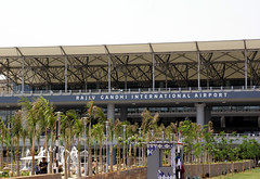 Hyderabad New Airport (pchavali) Tags: new airport gandhi hyderabad rajiv shamshabad