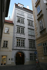 Mozart's house in Vienna