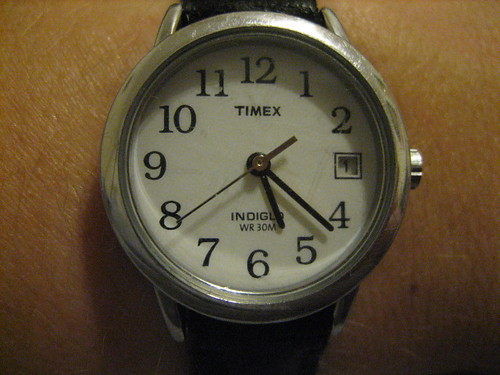 macro time watch font target timex ocd chicagoist