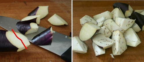 Cutting the Eggplant