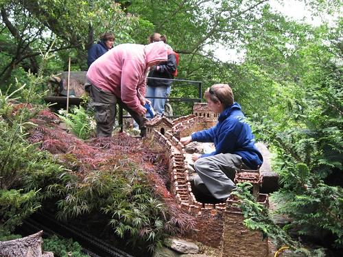 building the garden railway
