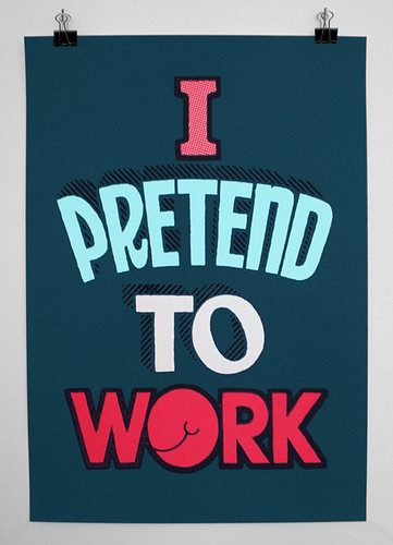 I pretend to work / Andy Smith