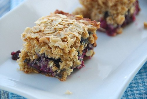 another piece of blackberry oatmeal cake