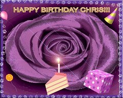 HAPPY BIRTHDAY CHRIS!!! (fantartsy JJ *2013 year of LOVE!*) Tags: birthday friends blessings happybirthday hugs greetingcard lovecelebrations