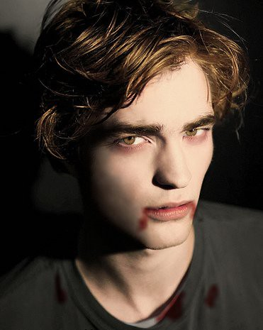 Twilight- Edward Cullen (Robert Pattinson)- After Drinking Animal Blood by TwilightSagaSarahW.