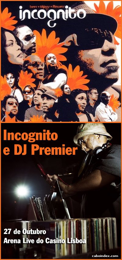 Flyer - Incognito + Dj Premiere