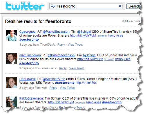 118c6fe044b2 Steal This Idea  Google Reader   Twitter Hashtags