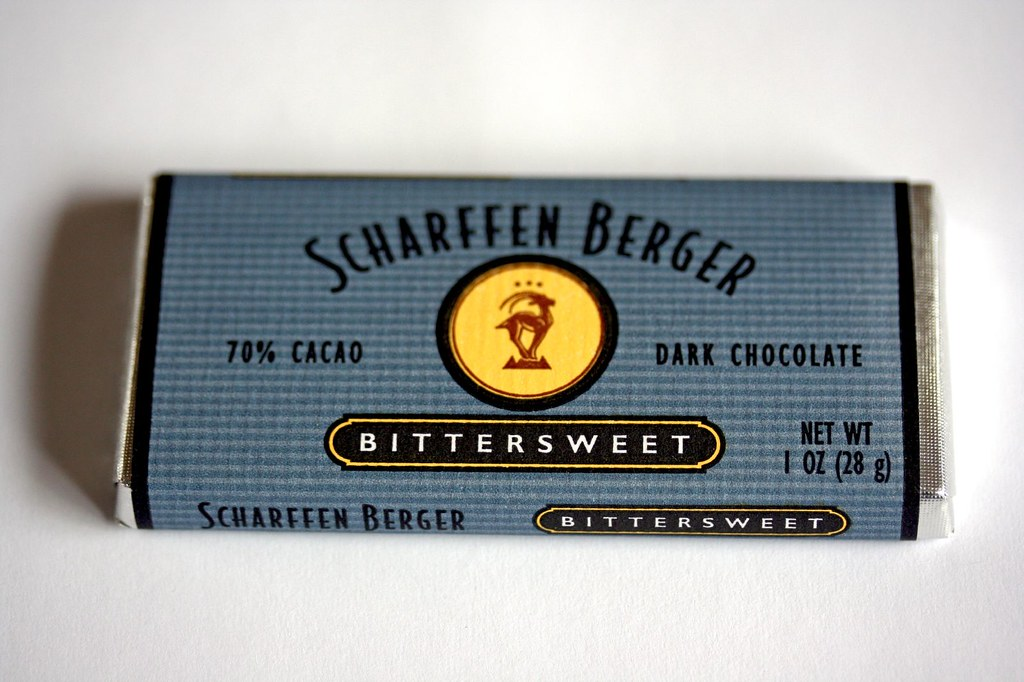 Mini bar of Scharffen Berger 70%