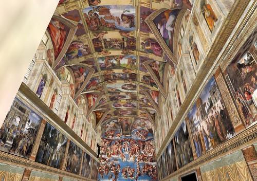 Cappella Sistina su Second Life