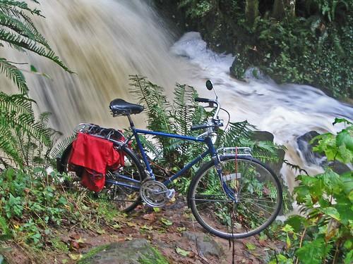 Bike at falls