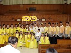 ooops... bad shot (bobbykm) Tags: wedding church beauty yellow children zamboanga bobbykm