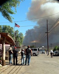 Miriam Raftery's Photo of Potrero Witch Fire