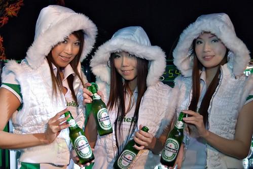 Heineken Babes