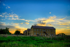 Fort Snelling Sunset (St Paul Paul) Tags: abandoned minnesota architecture army minneapolis twincities saintpaul base hdr fortsnelling