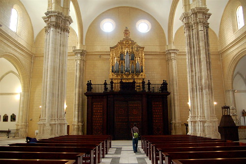 Pipe organ in the cathedral