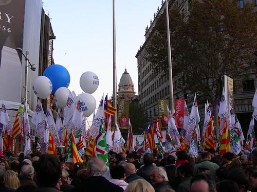 Inici de la manifestació
