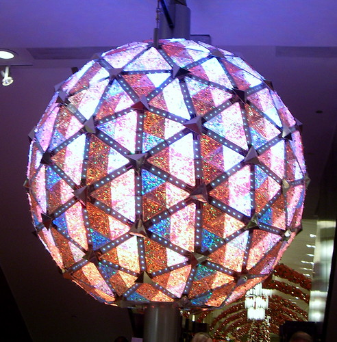 Macy's Time Square Crystal Ball by flickr user Between a Rock