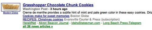 Google News - Sci-Tech Weird Relevancy Issue