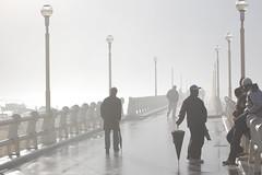 Lungomolo a Forte dei Marmi (checcastef) Tags: mare nebbia molo fortedeimarmi maredinverno dinverno