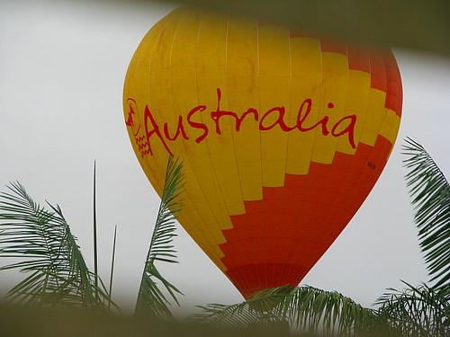 Hot Air Ballooon over Mareeba