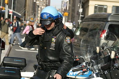 NYPD Highway Patrol (swatman67) Tags: ny newyork leather cops helmet police nypd harleydavidson motorcycle fiveo highwaypolice