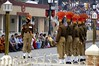 Indian BSF rangers at-ease